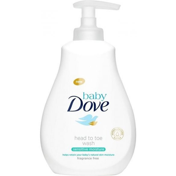 Dove Baby Sensitive Moisture Fürdető pumpás 200ml