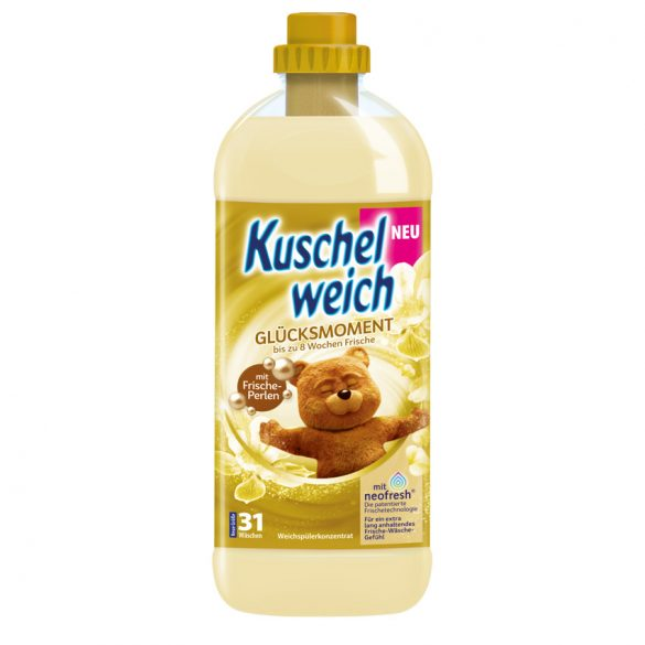 Kuschelweich  Öblítő koncentrátum  Boldogság pillanata 1L