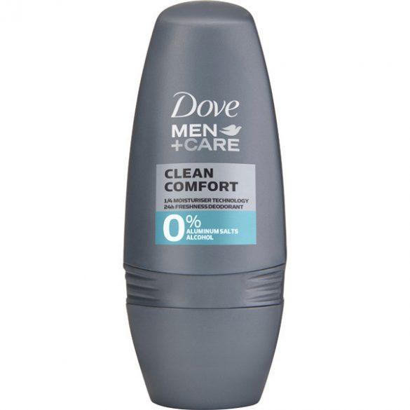 Dove Men+Care Clean Comfort roll-on, golyós dezodor 50ml