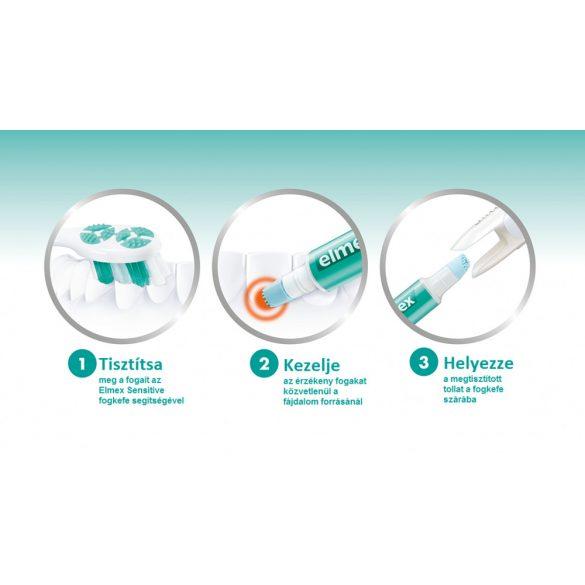 Elmex Professional Sensitive fogkefe + fogérzékenység elleni toll