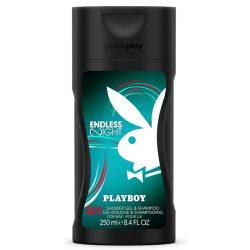 Playboy Endless Night 2in1 tusfürdő és sampon férfiaknak 250ml