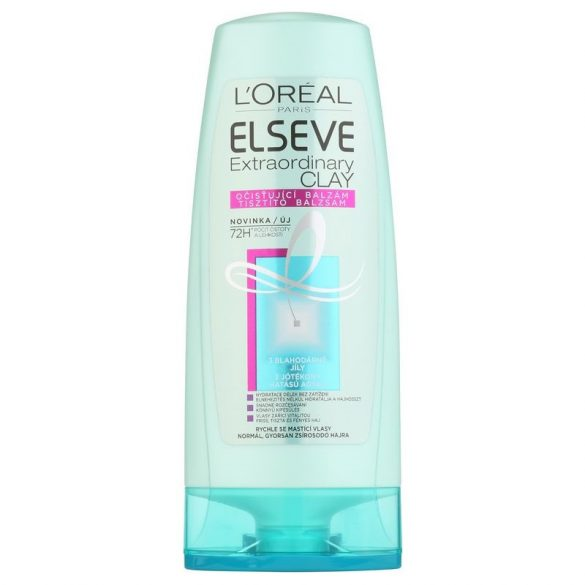 L'Oreal ELSEVE extraordinary clay hajbalzsam 200 ml