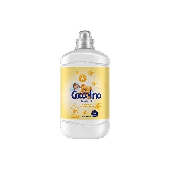 Coccolino Sensitive Almond & Cashmere Balm Őblítő 1,68 l , 1680ml
