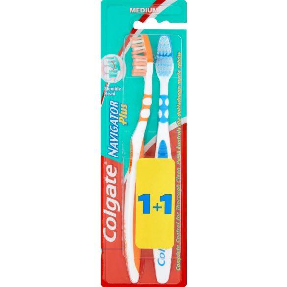 Colgate Navigator Plus fogkefe 2db Medium