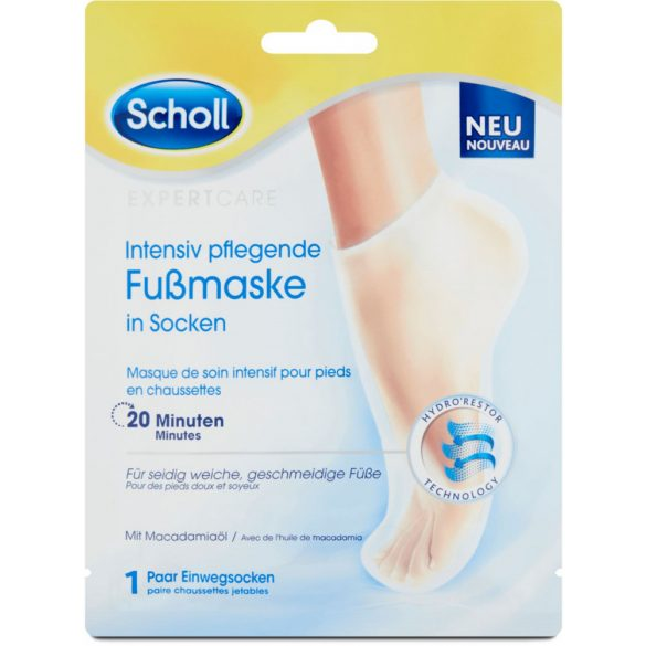 SCHOLL PediMask™ Expert Care hidratáló lábápoló maszk 1 pár - 2 db