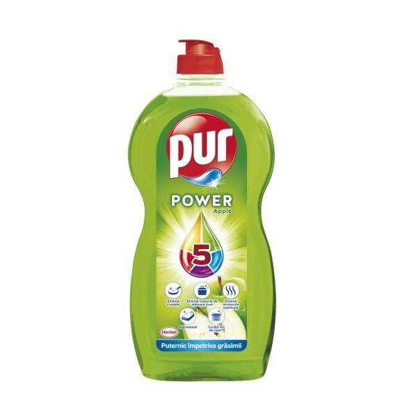 Pur Power 5  Apple kézi mosogatószer 450ml