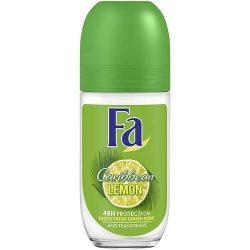 Fa Caribe Lemon női golyós dezodor roll-on 50ml