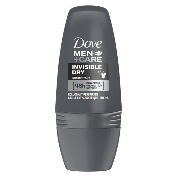 Dove Men + Care Invisible Dry golyós dezodor, roll-on 50ml