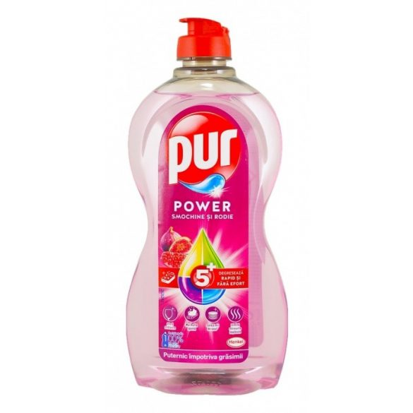 PUR Power 5+ Gránátalma mosogatószer 450ml