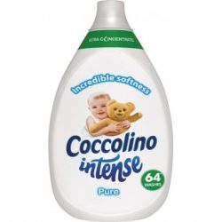 Coccolino Intense szuperkoncentrált öblítő Pure 64 mosás 960 ml