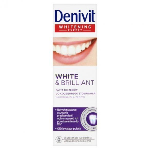 Denivit White & Brilliant fehérítő fogkrém 50ml