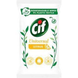 Cif Universal Citrus törlőkendő 36db