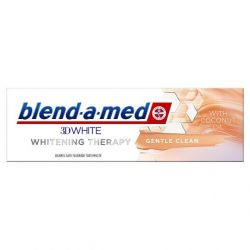 Blend-a-med 3DWhite Whitening Therapy Gentle Clean Coconut Oil Fogkrém, 75ml
