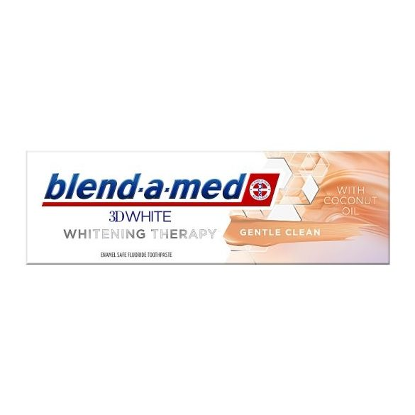 Blend-a-med 3DWhite Whitening Therapy Gentle Clean Coconut Oil Fogkrém, 75ml