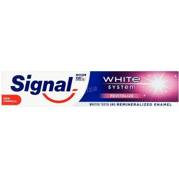 Signal White System fogkrém 75 ml ( min. 3db-rendelhető )