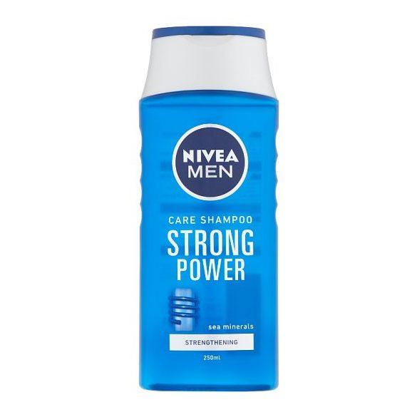 NIVEA MEN Strong Power sampon 250 ml