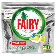 JAR / FAIRY Platinum Lemon Mosogatógép Kapszula 10 darabos kiszerelés