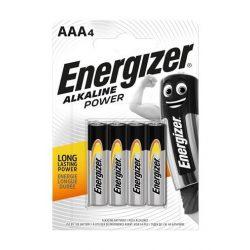 Energizer Alkaline Power AAA mikro ceruzaelem 4 darabos csomag
