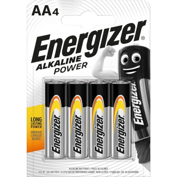 Energizer Alkaline Power AA ceruzaelem 4 darabos csomag