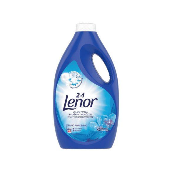 Lenor 2in1 Spring Awakening mosógél, folyékony mosószer 40 mosás, 2,2 l