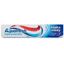 Aquafresh Triple Action Fresh & Minty fogkrém 125ml