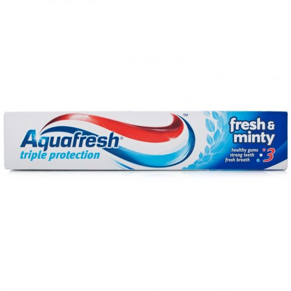 Aquafresh Triple Protection Fresh & Minty fogkrém 125ml