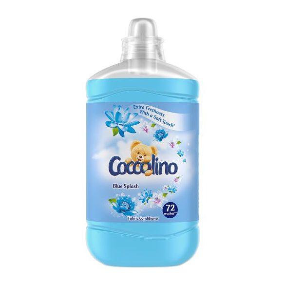 Coccolino Blue Splash öblítő koncentrátum 72 mosás 1,8l, 1800 ml