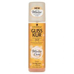 Gliss Kur hajregeneráló szérum  balzsam Express Repair - Winter care 200 ml