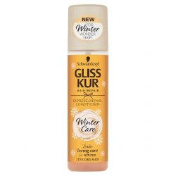Gliss Kur hajregeneráló szérum  balzsam Express Repair - Winter care 200 ml
