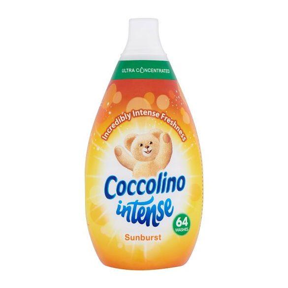 Coccolino Intense Sunburst Szuperkoncentrált öblítő 64 mosás 960 ml