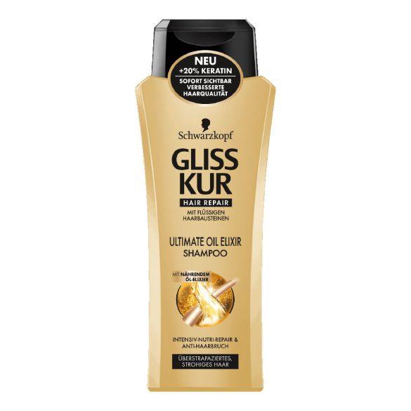 Gliss Kur Ultimate Oil Elixir sampon 400ml