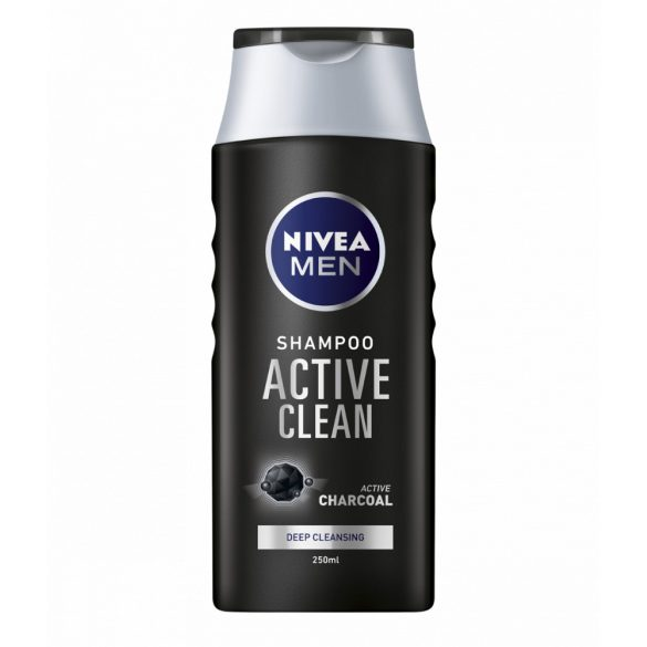 NIVEA MEN ACTIVE CLEAN sampon férfiaknak 250ml