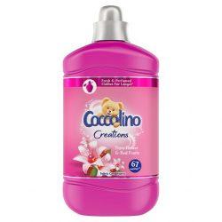 Coccolino Creations Tiare Flower & Red Fruits öblítő koncentrátum 67 mosás 1,68l, 1680 ml