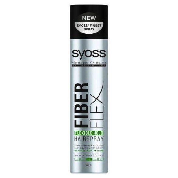 Syoss Fiberflex Flexibile hold hajlakk 400ml