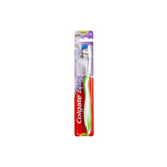 Colgate ZigZag közepes sörtéjű fogkefe
