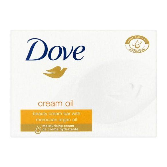 Dove Cream Oil krémszappan 100 g ( min. 4db rendelhető )