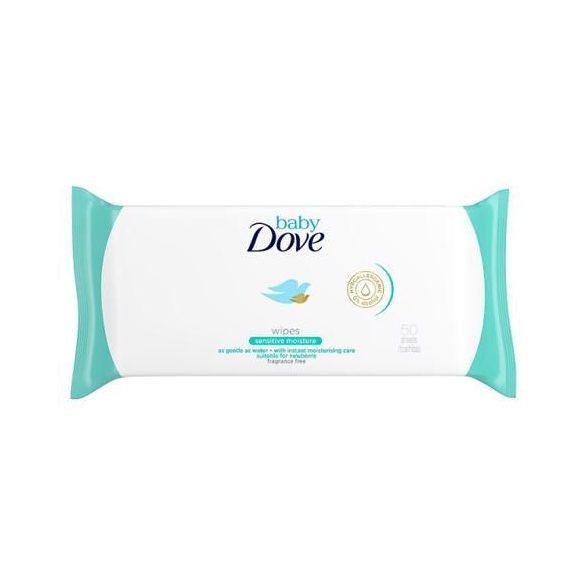 DOVE Baby Sensitive törlőkendő 50db-os