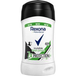 Rexona Invisible fresh power 7x protection stift 40ml