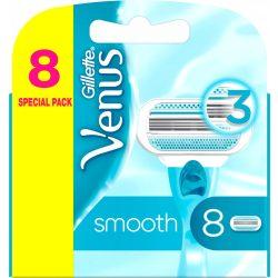 Gillette Venus Smooth női borotvabetét, 8 db
