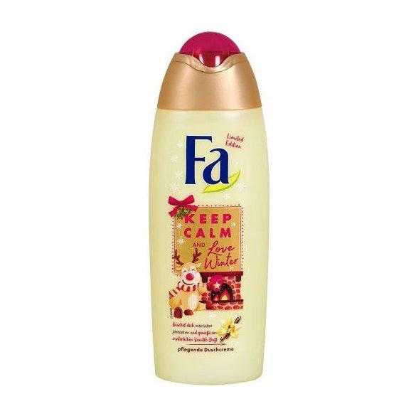 Fa Keep Calm & Love Winter Vanilla tusfürdő 250ml