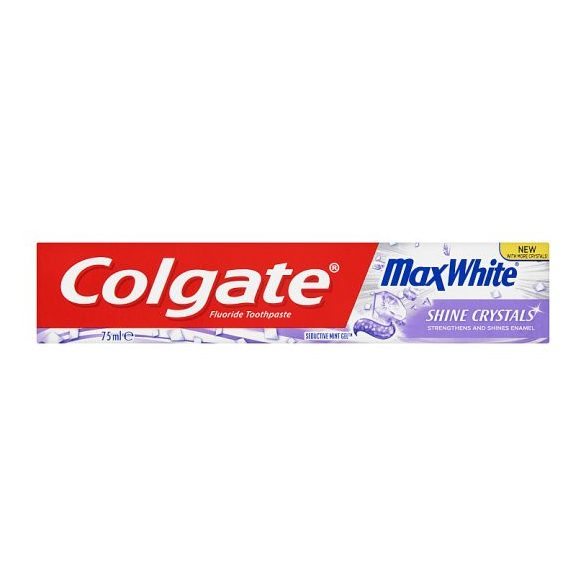 Colgate Max White Shine Crystals fogkrém 75 ml