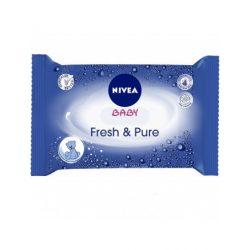 NIVEA Fresh & Pure Törlőkendő 63db-os
