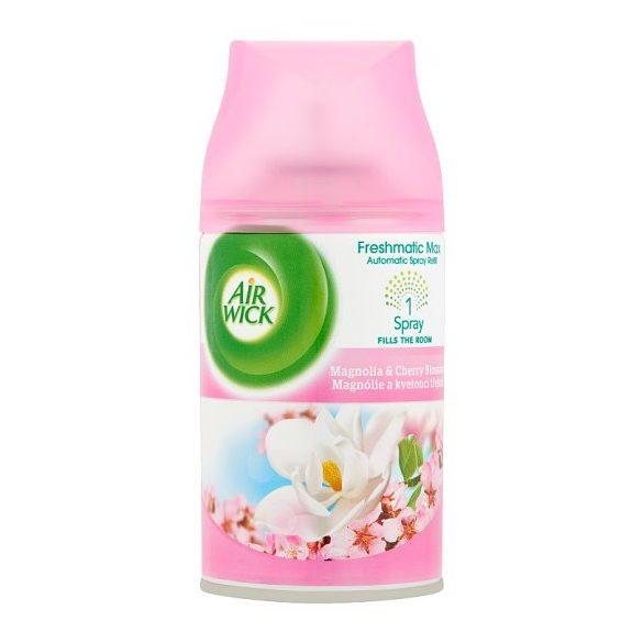Air Wick Freshmatic automata légfrissítő készülék utántöltő Magnolia & Cherry Blossom 250ml