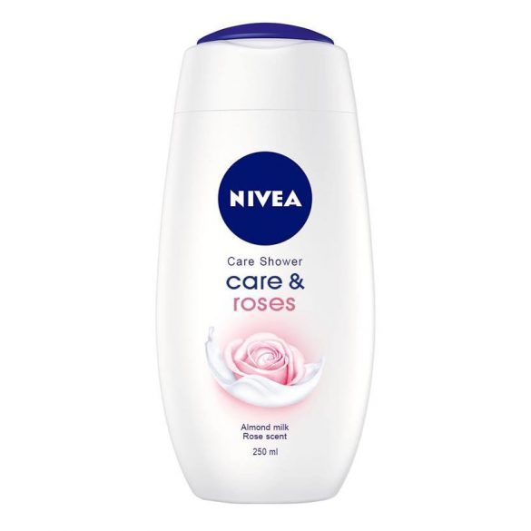 NIVEA Care & Roses krémtusfürdő 250 ml