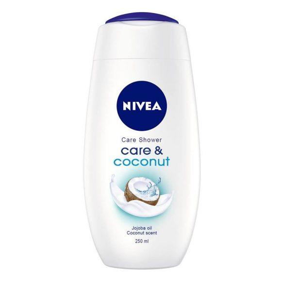 NIVEA Care & Coconut krémtusfürdő 250 ml