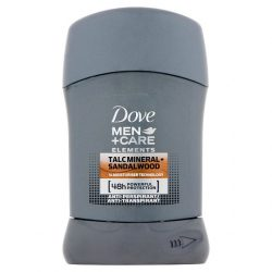 Dove Men+Care Talc Mineral+Sandalwood izzadásgátló stift 50 ml