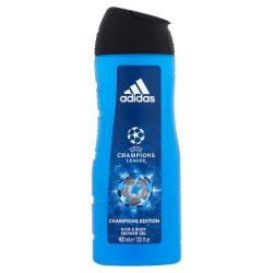 Adidas UEFA Champions League Champions Edition tusfürdő és sampon egyben férfiaknak 400 ml