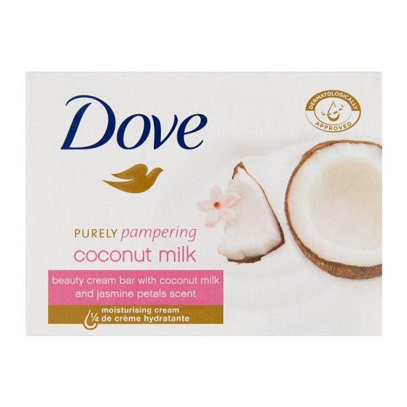 Dove Purely Pampering krémszappan kókusz tejjel és jázmin szirom illattal 100 g