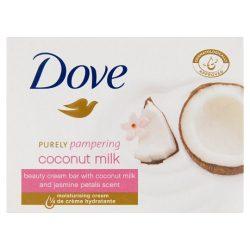 Dove Purely Pampering krémszappan kókusz tejjel és jázmin szirom illattal 100 g ( min. 4db rendelhető )