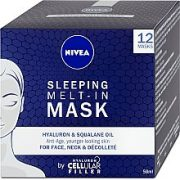 NIVEA SLEEPING MELT-IN MASK BY HYALURON CELLULAR FILLER 50ml